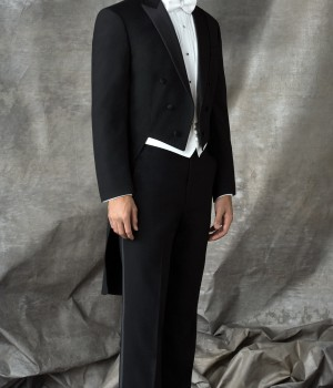 Black Tails Tuxedo by After Six