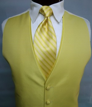 Citron Sterling Vest by Jean Yves