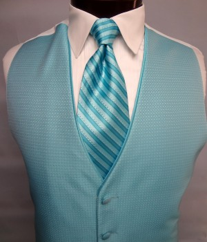 Rio Turquoise Sterling Vest by Jean Yves