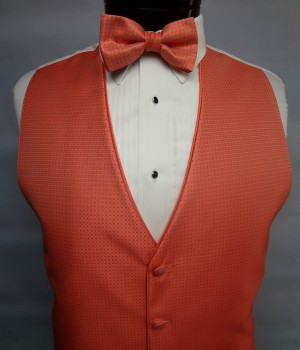 Palm Beach Coral Sterling Vest by Jean Yves