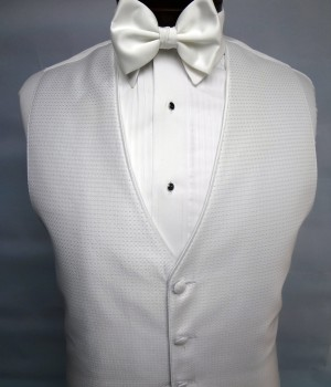 Pure White Sterling Vest by Jean Yves