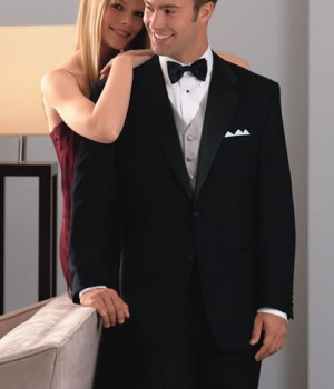 Neil Allyn 100% Wool Two Button Tuxedo