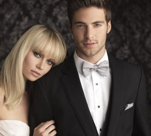 When renting a tuxedo, look for a company that has their merchandise in the store. This way, you can browse and try on the actual garments, so there are no surprises come pickup day.