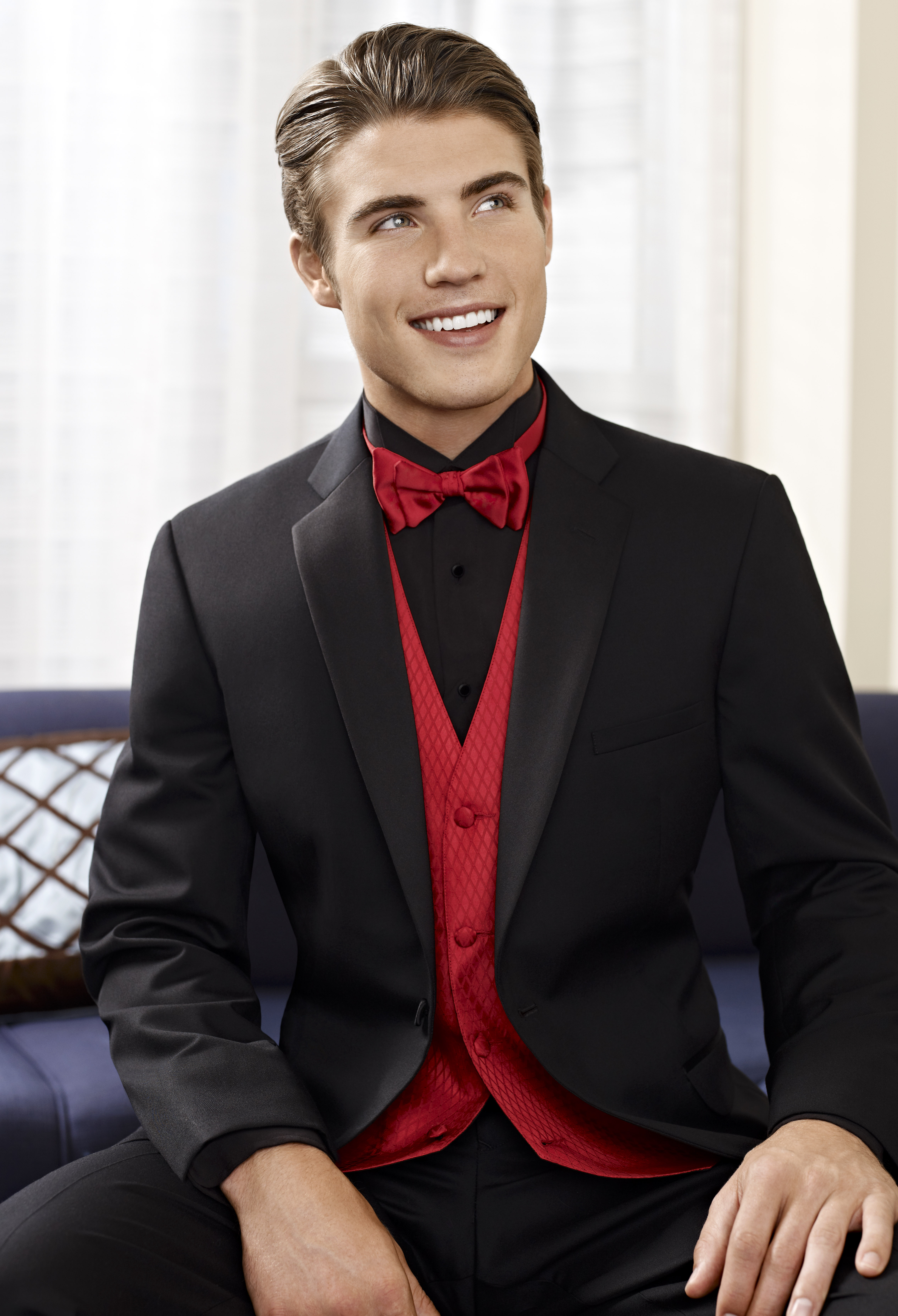 Jean Yves Fitted One Button Tuxedo : Formal Dimensions